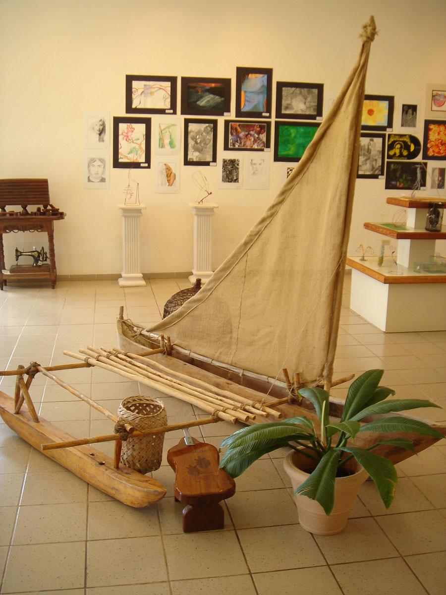 Proa獨木舟與Outrigger