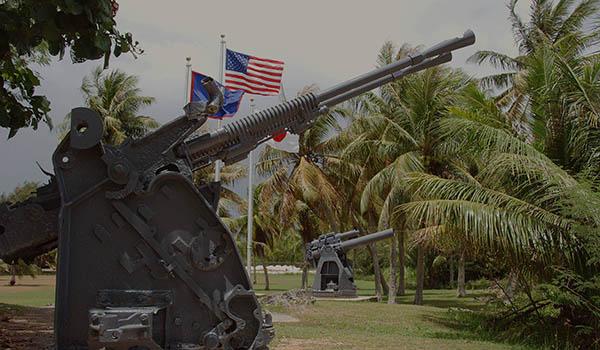 太平洋戰爭中的關島