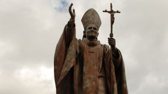 關島教宗紀念碑 Santo Papa as Juan Pablo Dos Monument