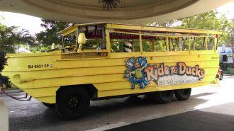 關島水陸兩棲小鴨車 Ride the Duck Guam