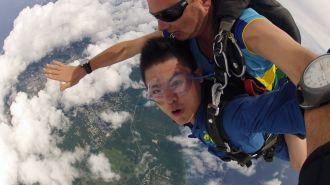 關島高空跳傘 Tandem Skydive