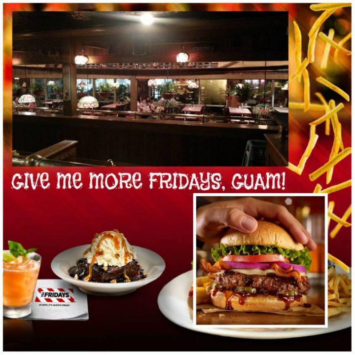 星期五餐廳T.G.I. Friday's台灣的朋友肯定不陌生。