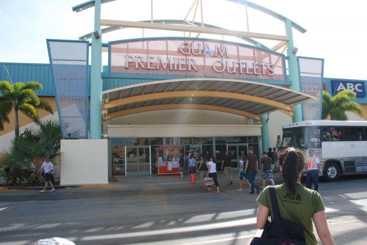 關島暢貨中心(Guam Premier Outlet,簡稱GPO)是關島人氣最夯的購物商場。