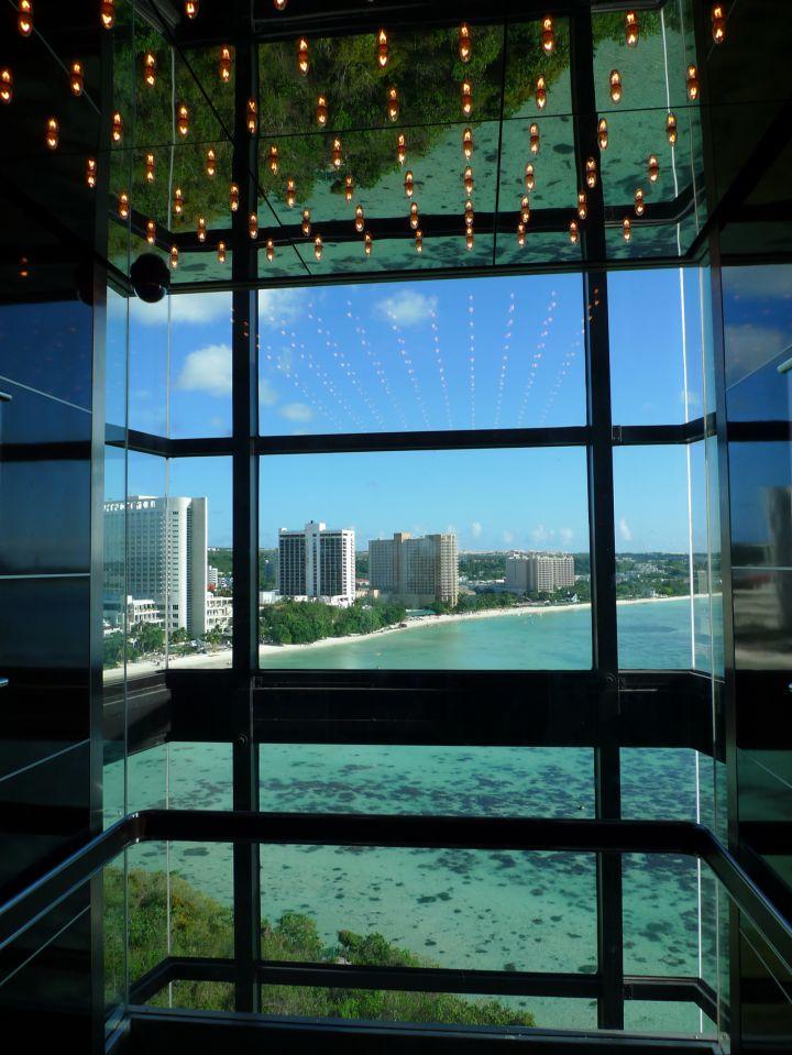海景電梯是阿物最愛!