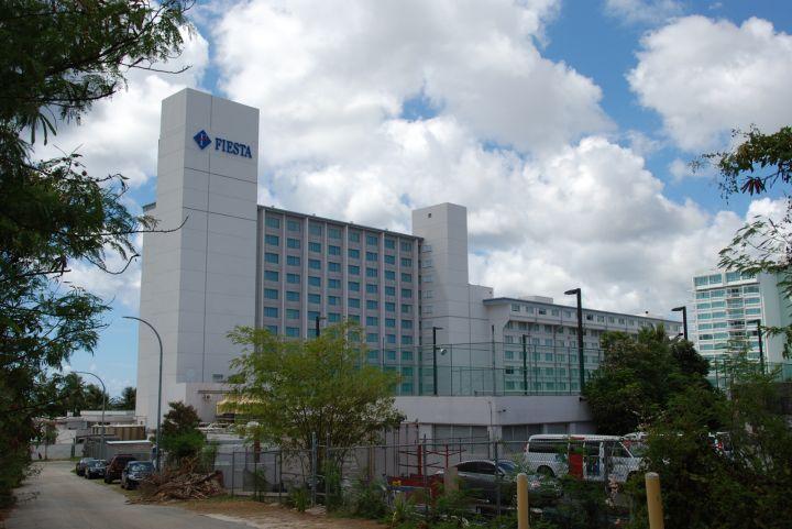 關島悅泰飯店外觀。