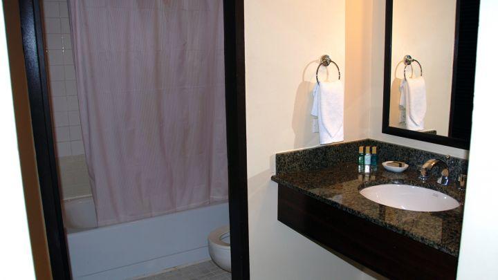 飯店浴室設計。