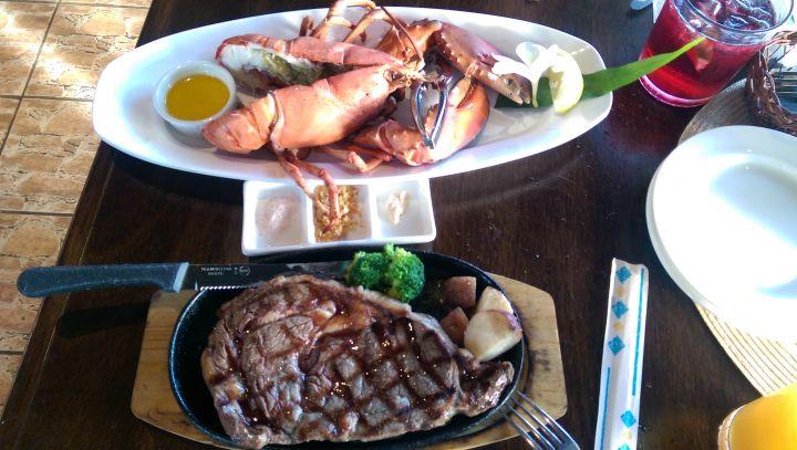 深受當地人歡迎的Core BBQ Garden & Bar。(圖片提供/關島之家成員Lilian Hsu)