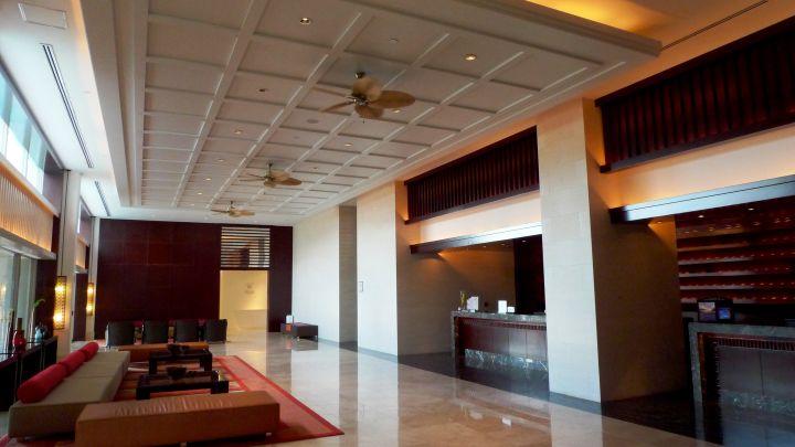 從進入大廳開始就讓人感受到五星級飯店的高級感。