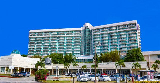 飯店外觀。