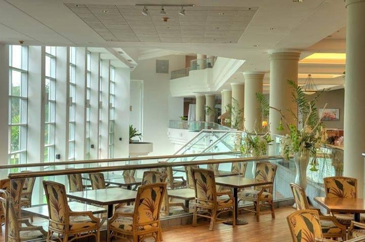 飯店內的公共空間。