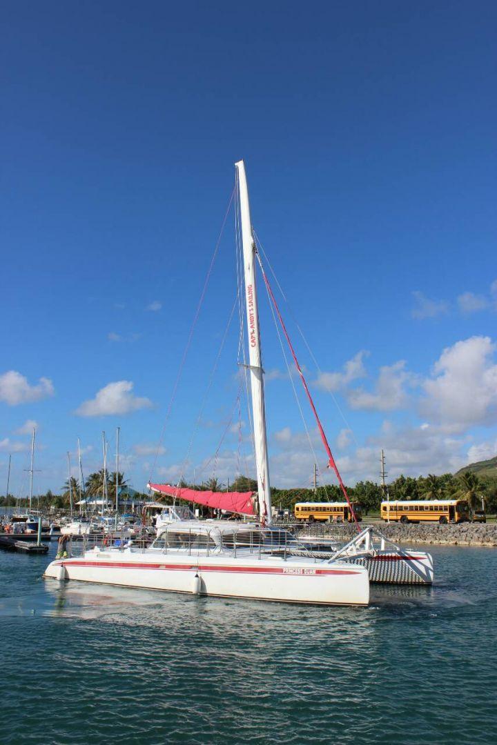 關島美人魚公主號船身。