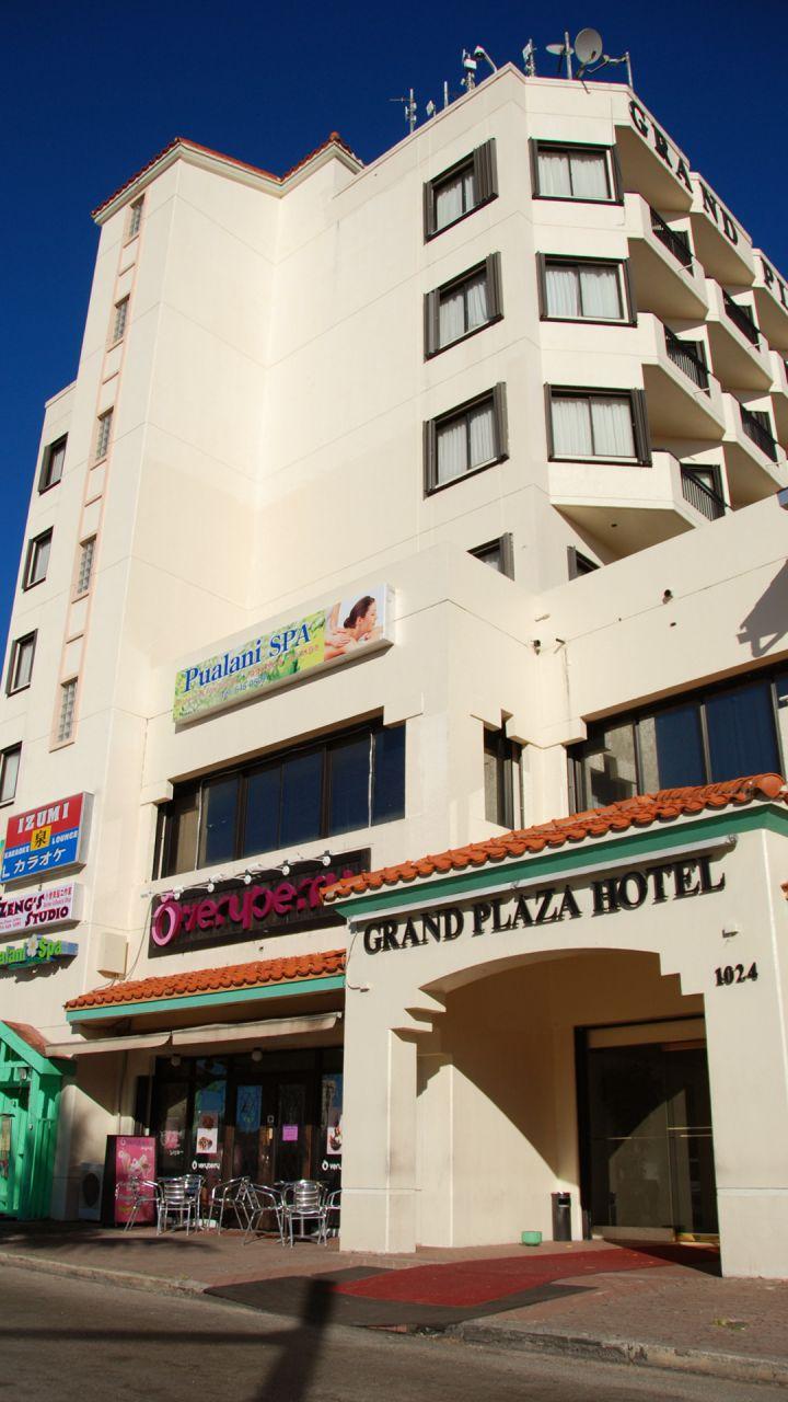 經濟型的關島檳城飯店。