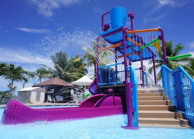 渡假村有許多親子設備,適合全家來玩。