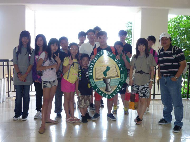讓孩子利用寒暑假到關島學習英語。