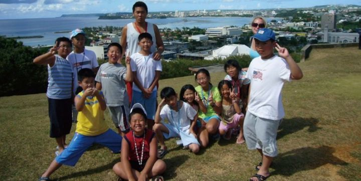 關島夏令營/冬令營近年來十分盛行。