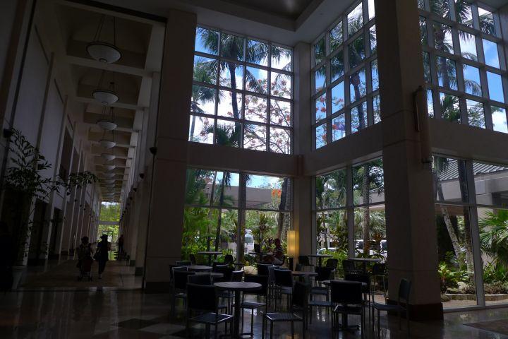 從大廳就給人五星級飯店感覺。