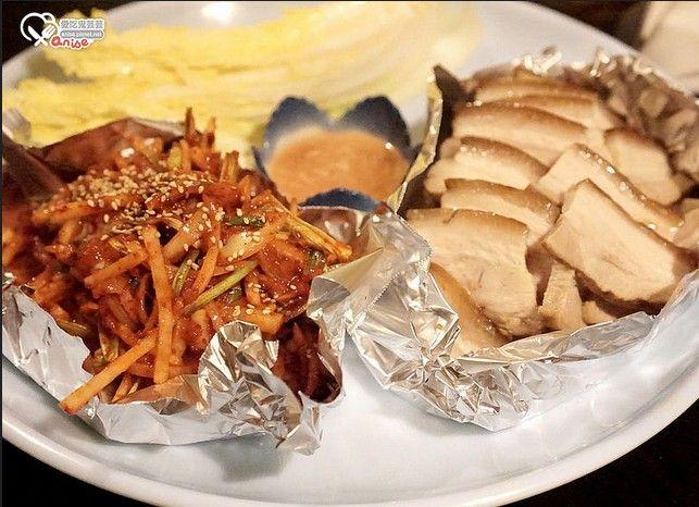 菜包白切肉。(圖片來源/愛吃鬼芸芸提供)