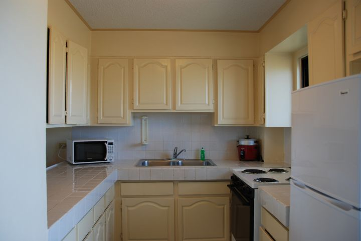 家庭房內附有廚房很方便。