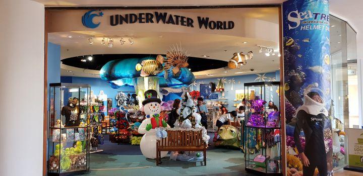 水族館內的紀念品店。