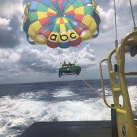 關島ABC海灘俱樂部-拖曳傘
