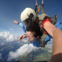關島高空跳傘