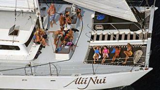 關島美人魚公主號出海賞鯨豚、船釣