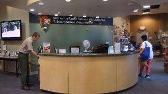 關島T. Stell Newman 遊客中心 T. Stell Newman Visitor Center