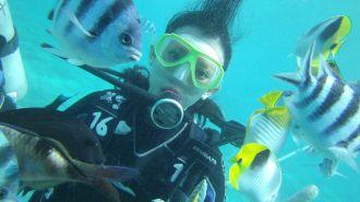 關島免執照體驗潛水 Scuba Diving
