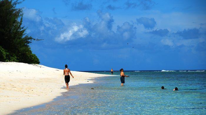 毫無疑問這是關島最美的沙灘!