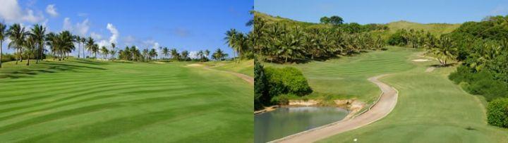 這裡是由9位世界級高爾夫球星共同設計監修。
