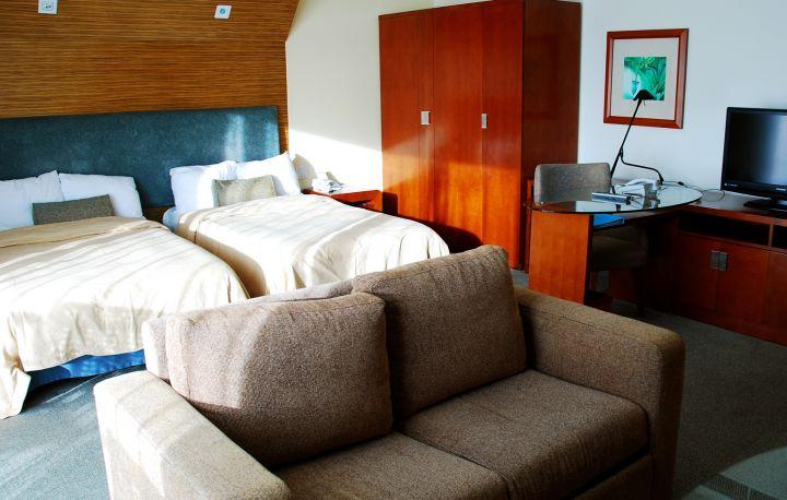Junior Suite 行政套房一房一廳,非常舒適。