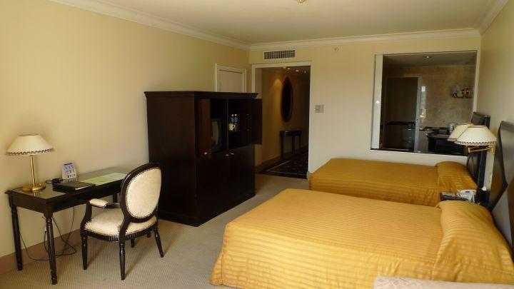 一般房型走商務飯店風格。
