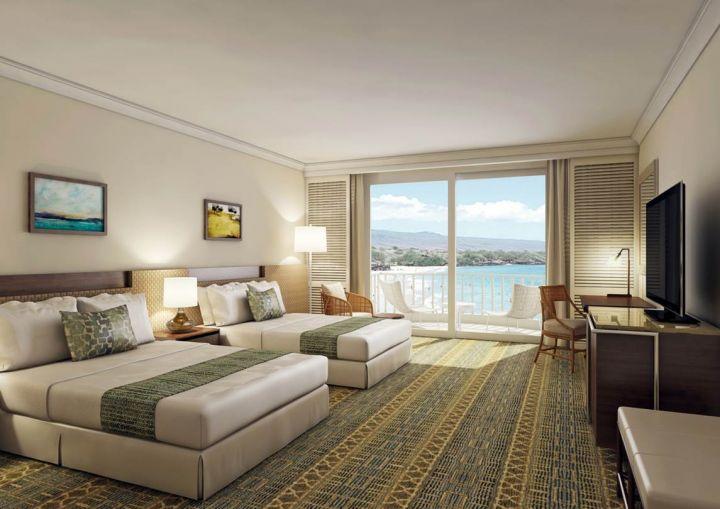 建議入住Ocean Front Deluxe Rooms,位於12樓以上,視野無遮攔。