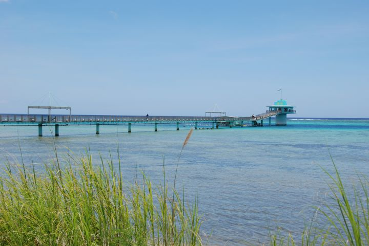 魚眼情人橋長達280公尺完全無遮蔽物。