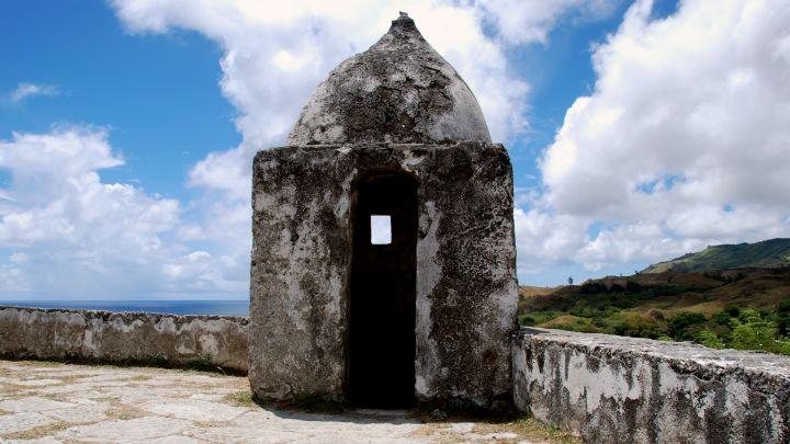西班牙統治時期抵禦海盜的碉堡。