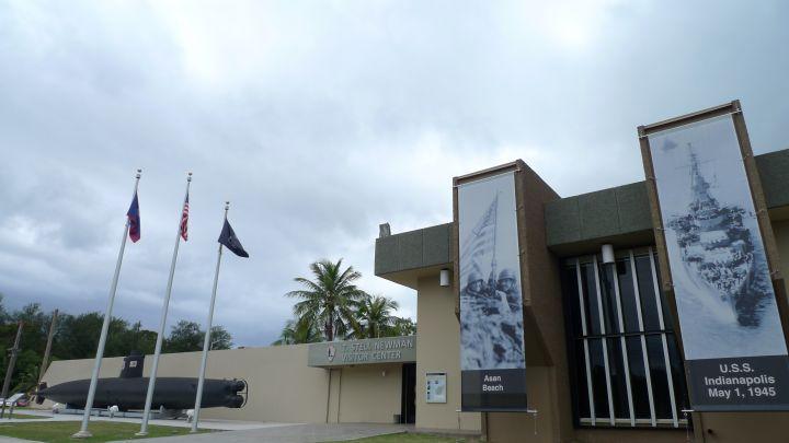 T. Stell Newman 遊客中心不僅是一個遊客中心,更是戰爭歷史博物館。