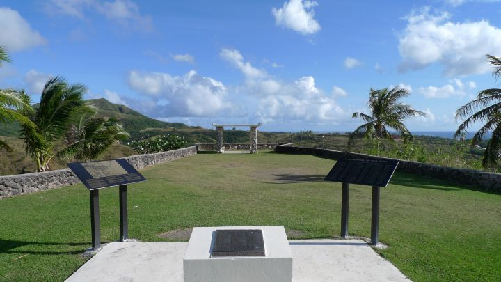 公園較少人到訪,占地不大卻有極佳的景緻,可眺望關島南部諸多景點。