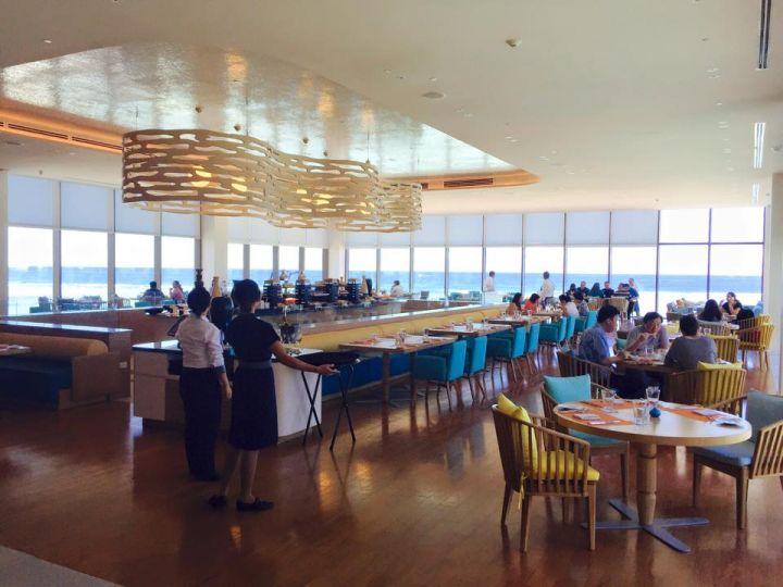 飯店餐廳。