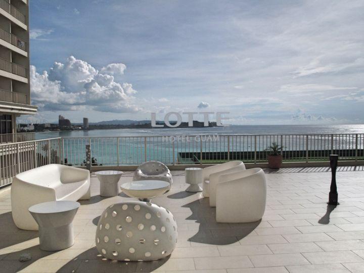 簡約舒適是樂天飯店的主要風格。