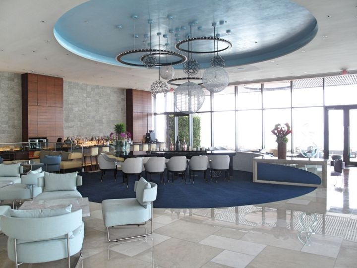 杜喜塔尼飯店內的Lobby Bar,充滿奢華感。
