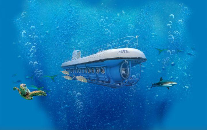 亞特蘭提斯號潛水艇是關島唯一的觀光潛水艇。