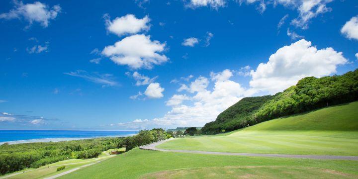 太平洋鄉村俱樂部位於關島的中部,由日本名設計師Tomizawa設計。
