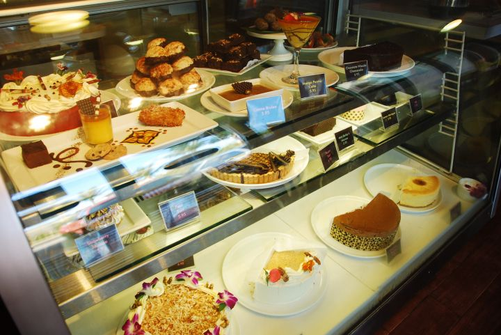 除了美味肋排還有多種甜點可選擇。