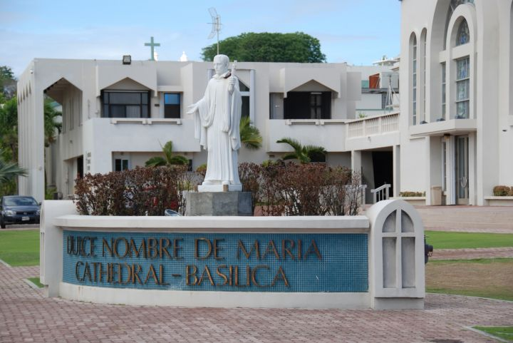 現在的聖母瑪莉亞教堂是在1958年重新修建而成的。