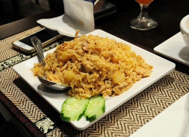泰式炒飯。