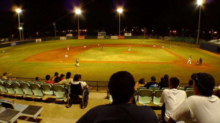 關島設備最完整的棒球場就在巴西歐公園內。