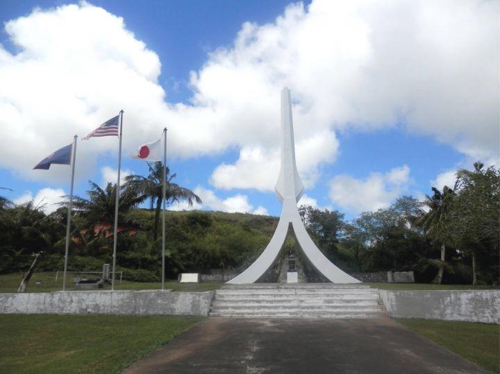南太平洋紀念公園是二次大戰的重要戰場。(圖片來源/COLOR GUAM, Art by Taliea Strohmeyer)
