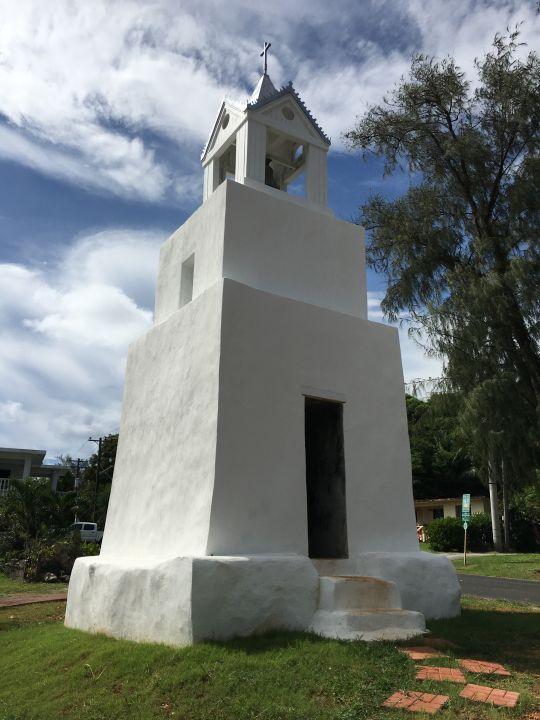 馬利索鐘塔目前已漆成全白色。
